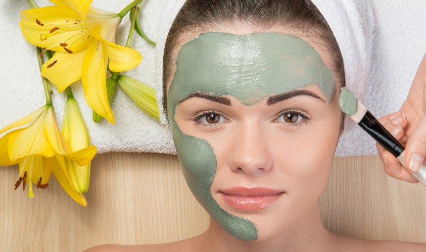 Westmont Day Spa Facial mask
